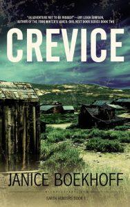Crevice by author Janice Boekhoff