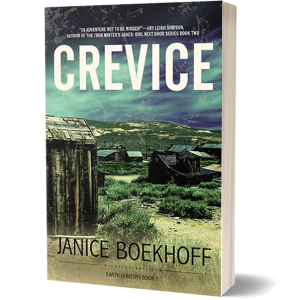 Crevice by Author Janice Boekhoff